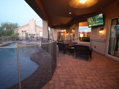 Photo for Scottsdale 5 star Luxury Hme, Heated Pool, gourmet Chef,Concierge,golf