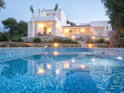 Photo for Puglia contemporary 3 bedroom villa with pool - Three Bedroom Villa, Sleeps 6
