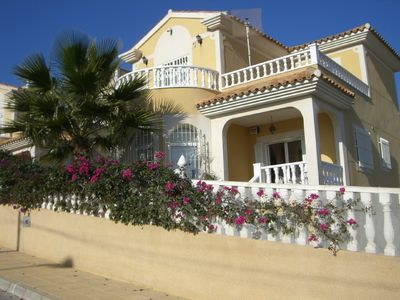 Photo for Beautiful Three Bedroom Detached Villa With Large Private Pool.