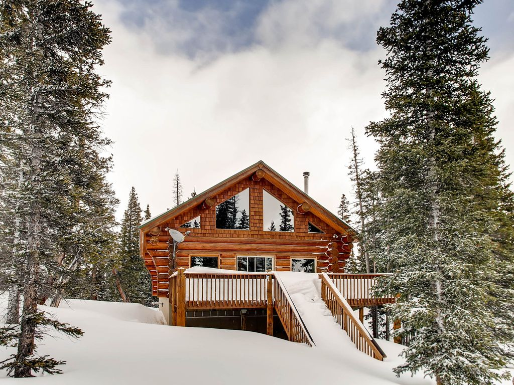 Ptarmigan lodge 3 bedrooms plus a loft vrbo for Cabin rentals near denver colorado