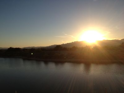 Photo for Summertime is River time at Palo Verde - private marina - on the water in 2 mins
