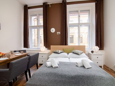 Photo for Soukenicka Apartcomplex  Double level CZPR53 - Aparthotel for 4 people in Praha