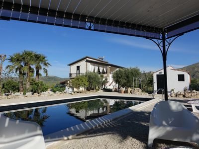 Photo for Private Villa NERO BIANCO-EXTRAORDINARY VIEW !!POOL, olive, citrus, vines