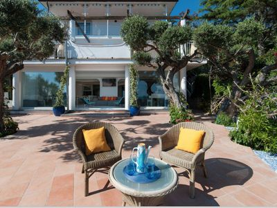 Photo for Villa Nerano with Panoramic Ocean Views from Multiple Levels of Terraces