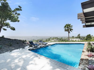 Photo for Mid Century Modern 5 Bedroom with Views and Pool