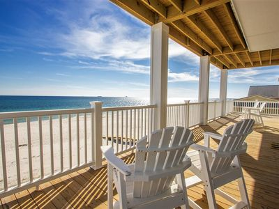 Photo for Luxury Beachfront Sleeps 22!