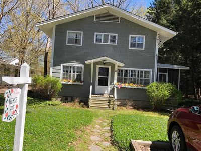 Photo for Charming Cottage - Steps Away From Lake Michigan ***New this year A/C and heat