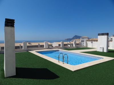 Photo for Charming 3 bedroom apartment facing the sea.