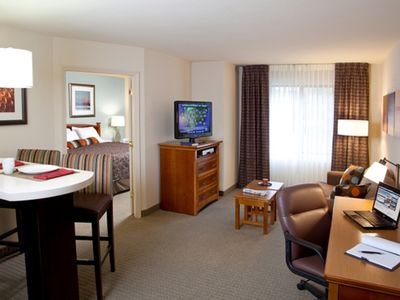 Photo for Equipped King Suite | Seasonal Pool + Free Wi-Fi, Free Breakfast