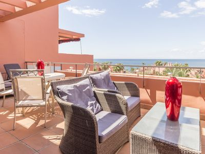 Photo for Fantastic dúplex in the beach, new golden mile