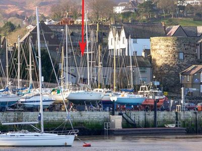 Photo for Quayside Cottage, CONWY