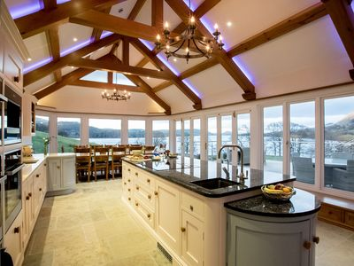 Photo for From £77 pppn. Sublime award winning house set in 26 acres of the English Lakes with hot tub and spa
