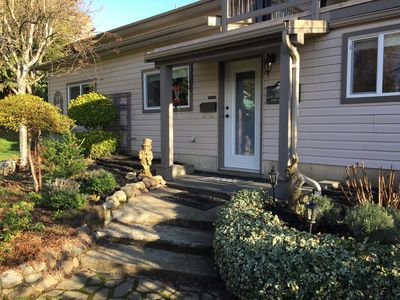 Photo for A convenient and comfortable self catered suite close to downtown Courtenay.