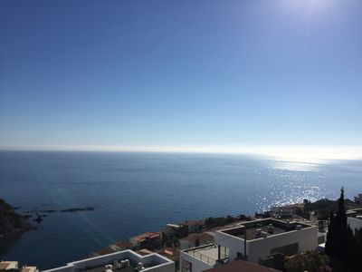 Photo for 3br penthouse with sea view in Llança, Costa Brava