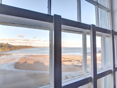 Photo for Stunning location near the beaches, restaurants and centre of Tenby. Great views over the harbour.