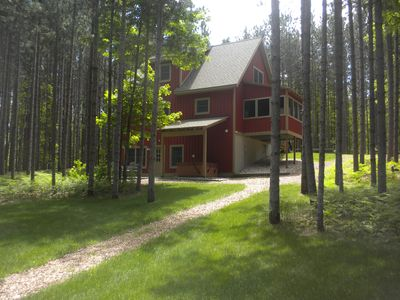 Rear of Cottage, Lawn area
