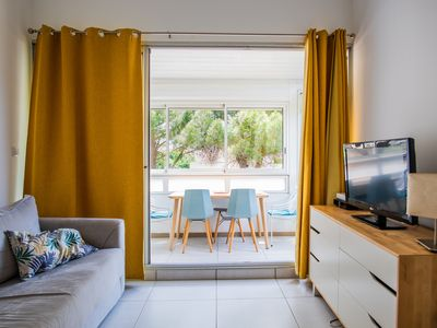 Photo for F2 duplex in residence with swimming pool and parking, 2 min from the beach