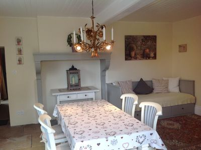 Photo for Beautiful apartment in former Domaine 6 km from Beaune