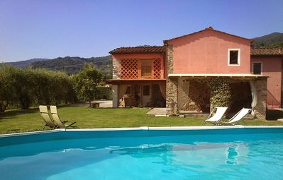 Photo for Dimora di Bucchia, independent rustic villa with swimming pool