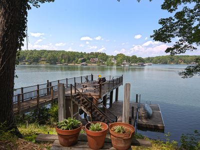 Photo for Cottage at the Lake, Smith Mountain Lake,Family & dog friendly, canoe, firepit