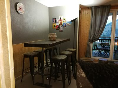 Photo for Apartment at the foot of the slopes for 6 people-Les-Deux-Alpes
