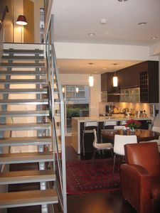 Walk-In to Living area and kitchen