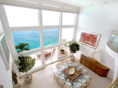 Photo for Beautiful Oceanfront 3-Level Penthouse with Hotel Services and Private Terraces