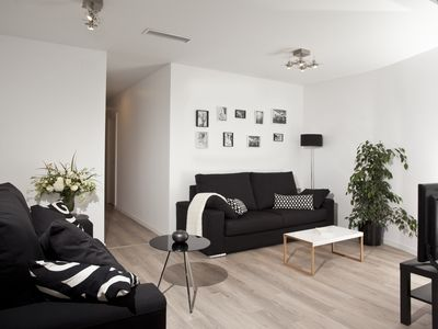 Photo for Cozy apartment, ideal for families, well connected
