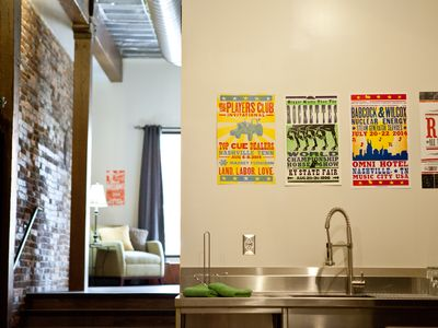 Photo for Studio Loft with Queen Bed & Bunkbed 1-block from Broadway!
