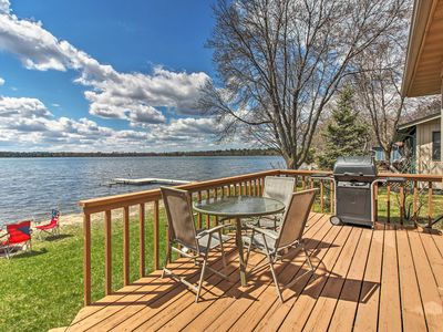 Photo for Lakefront Nisswa Cabin w/ Spacious Deck & Kayaks!