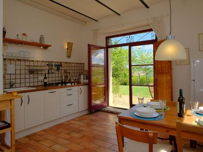 Photo for Casa Montale, 4/5 Cantina, typical country house, gr. Pool, secluded location, panoramic views