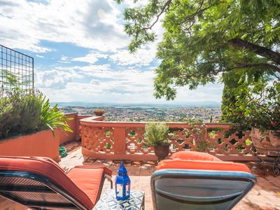 Photo for JEWELS OF SAN MIGUEL - CASITA RUBY  Unparalled views of the city from Terrace