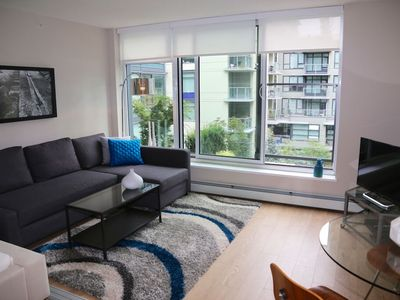 Photo for Stunning Modern Olympic Village Condo Close to Waterfront and Downtown
