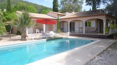 Photo for Beautiful villa with swimming pool SOMMIERES
