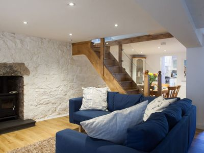 Photo for Dave's Pad – Listed Fisherman's Cottage Situated in Heart of St Ives - Sleeps 8 - Pet Friendly With