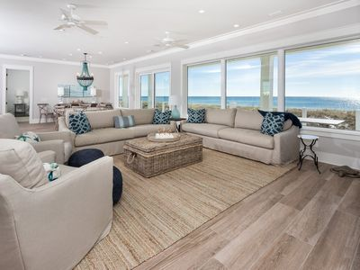 Photo for Blue Sky - Gorgeous Home in Navarre Beach! Sleeps 16, Gulf Front, Gas Grill, Kid's Loft!