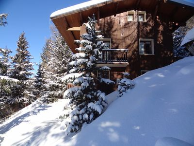 Photo for Chalet in La Plagne, 1900m, 10/16 people, 250m from the ski slopes