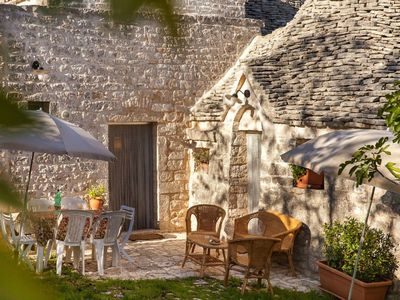 Photo for Relaxing Trullo -  ideal trullo for a couple.