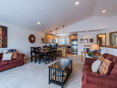 Photo for Tasteful townhome with a private sun deck overlooking the pool!