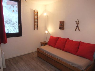 Photo for One bedroom Apartment, sleeps 2 in Les Bruyères with WiFi