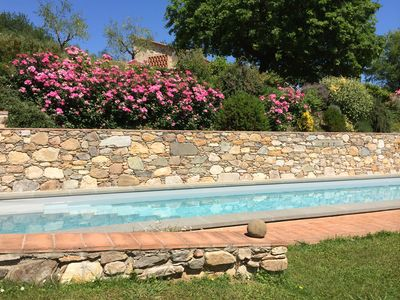 Photo for LA CASA TOSCANE - Panoramic position on the quiet Tuscan hills with pool