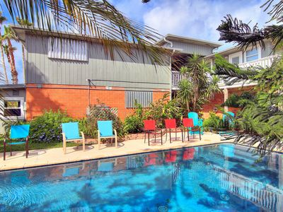 Photo for Belle Isle Villa, PRIVATE POOL! Perfect for large groups, 2 self contained homes
