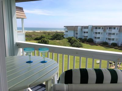 Photo for Wonderful Ocean View Condo and steps away from the Beach