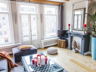 Photo for CENTRAL 3BR Spacious 2 Level Apt. w / 3 balconies located in THE FAMOUS JORDAAN