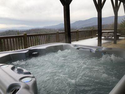 Bask in the late afternoon sun & watch the sunset from the hot tub!