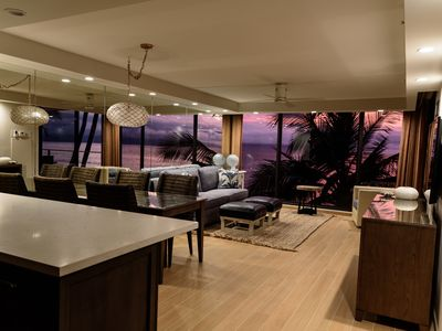 Photo for Gap Days Sales in June. Luxurious,  newly remodeled, Direct Oceanfront 1 BR Cond