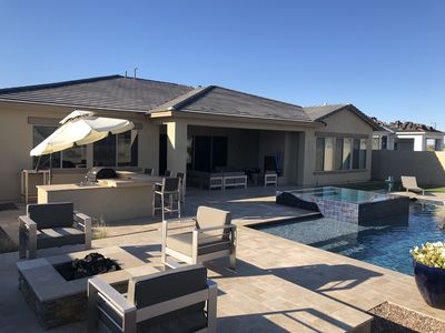 Photo for Desert retreat in Estrella Mountain Ranch with private pool in gated community