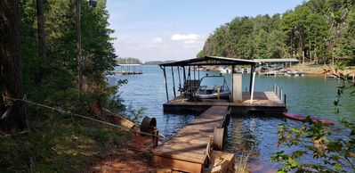 Photo for Beautiful Lake Hartwell Retreat with Room for the Whole Family!!