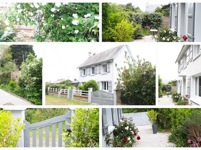 Photo for A 400 M FROM THE BEACH, SPACIOUS HOUSE CLASSIFIED 4 * BEAUTIFUL GARDEN TREES CLOSED