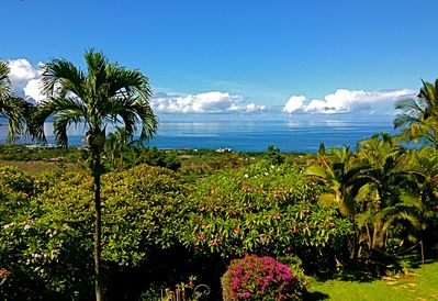 Maui Ocean Palms - Panoramic ocean view from your front lanai